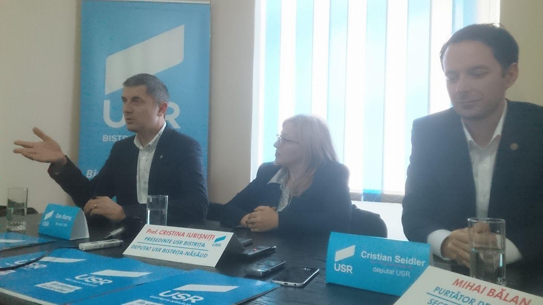 Rezultatul alegerilor interne pentru listele de candidați ai USR PLUS Bistrița-Năsăud la parlamentare.