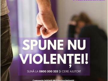 Campanie de informare si conștientizare în sprijinul victimelor violenței domestice. 2500 de pliante vor fi distribuite prin Serviciile de asistență socială și DGASPC.